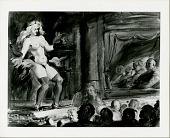 view Burlesque, Singer Dancer [painting] / (photographed by Peter A. Juley & Son) digital asset number 1