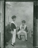 view The Velie Boys [painting] / (photographed by Peter A. Juley & Son) digital asset number 1