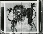view Fighting Zebras [decorative arts] / (photographed by Peter A. Juley & Son) digital asset number 1