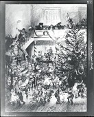 view Yuletide Revels [drawing] / (photographed by Peter A. Juley & Son) digital asset number 1