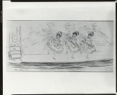 view The Sherwood Sisters [drawing] / (photographed by Peter A. Juley & Son) digital asset number 1