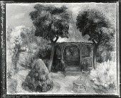 view Garden at Hartford [painting] / (photographed by Peter A. Juley & Son) digital asset number 1
