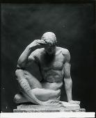 view Merman Figure (Model for sculpture for Vizcaya Barge, estate of James Deering, Biscayne Bay, Miami, Florida) [sculpture] / (photographed by Peter A. Juley & Son) digital asset number 1