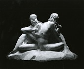 view The Sea Girls (Model for sculpture for Vizcaya Barge, estate of James Deering, Biscayne Bay, Miami, Florida) [sculpture] / (photographed by Peter A. Juley & Son) digital asset number 1
