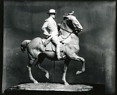 view Military Officer on Horseback [sculpture] / (photographed by Peter A. Juley & Son) digital asset number 1