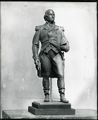 view Portrait of a Man in Military Uniform [sculpture] / (photographed by Peter A. Juley & Son) digital asset number 1