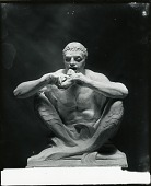view Merman with Fish (Model for sculpture for Vizcaya Barge, estate of James Deering, Biscayne Bay, Miami, Florida) [sculpture] / (photographed by Peter A. Juley & Son) digital asset number 1