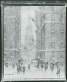 view No Title Given: Wall Street? [painting] / (photographed by Peter A. Juley & Son) digital asset number 1