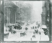 view Fifth Avenue in Winter, [painting] / (photographed by Peter A. Juley & Son) digital asset number 1