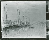 view Gloucester Harbour [painting] / (photographed by Peter A. Juley & Son) digital asset number 1