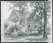 view Old Homestead - Saybrook, Connecticut [painting] / (photographed by Peter A. Juley & Son) digital asset number 1