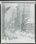 view No Title Given: New York City? [painting] / (photographed by Peter A. Juley & Son) digital asset number 1