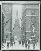 view Wall Street - Winter [painting] / (photographed by Peter A. Juley & Son) digital asset number 1