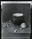 view Iron Kettle and Clams [painting] / (photographed by Peter A. Juley & Son) digital asset number 1