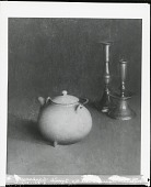 view Kettle and Candlesticks [painting] / (photographed by Peter A. Juley & Son) digital asset number 1