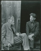 view Emil Carlsen with his son Dines Carlsen [photograph] / (photographed by Peter A. Juley & Son) digital asset number 1