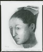 view Portrait of Olga [drawing] / (photographed by Peter A. Juley & Son) digital asset number 1
