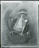 view The Frog [painting] / (photographed by Peter A. Juley & Son) digital asset number 1