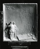 "view General Pershing Exclaiming ""We Are Here"" at the Tomb of Lafayette [sculpture] / (photographed by Peter A. Juley & Son) digital asset number 1"