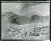 view On Road to Gjebodin, Norway [painting] / (photographed by Peter A. Juley & Son) digital asset number 1