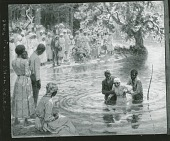 view Deep Water Baptism [painting] / (photographed by Peter A. Juley & Son) digital asset number 1