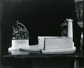 view Model for a Civil War Memorial [sculpture] / (photographed by Peter A. Juley & Son) digital asset number 1
