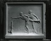 view James E. Sullivan Memorial Tablet [sculpture] / (photographed by Peter A. Juley & Son) digital asset number 1