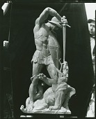 view Model for St. George and the Dragon [sculpture] / (photographed by Peter A. Juley & Son) digital asset number 1