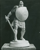 view Study for The Hun [sculpture] / (photographed by Peter A. Juley & Son) digital asset number 1