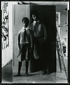 view Portrait Group with Two Boys [painting] / (photographed by Peter A. Juley & Son) digital asset number 1