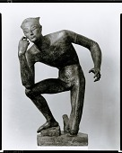 view Kneeling Man [sculpture] / (photographed by Peter A. Juley & Son) digital asset number 1