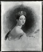 view Queen Victoria [painting] / (photographed by Peter A. Juley & Son) digital asset number 1