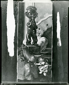 view Still Life with Sculpture and Branch [painting] / (photographed by Peter A. Juley & Son) digital asset number 1