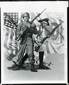 view American Military Poster [painting] / (photographed by Peter A. Juley & Son) digital asset number 1
