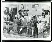view Musicale in Mayor Powel's Home, Philadelphia, 1793 [photomechanical print] / (photographed by Peter A. Juley & Son) digital asset number 1