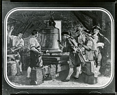 view Committee Examining Re-Cast Liberty Bell, Pass & Stow's Foundry, Philadelphia, 1753 [photomechanical print] / (photographed by Peter A. Juley & Son) digital asset number 1