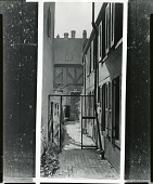 view Courtyard in Baltimore in Spring [painting] / (photographed by Peter A. Juley & Son) digital asset number 1