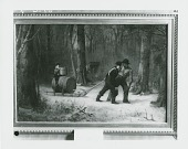 view On Their Way to Camp [painting] / (photographed by Peter A. Juley & Son) digital asset number 1