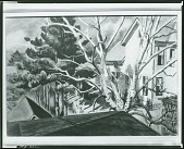 view White Pine and Birch [painting] / (photographed by Peter A. Juley & Son) digital asset number 1
