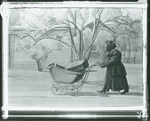 view Peddler in Spring [painting] / (photographed by Peter A. Juley & Son) digital asset number 1
