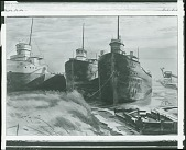 view Three Boats in Winter [painting] / (photographed by Peter A. Juley & Son) digital asset number 1