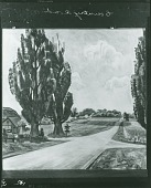 view Country Road in July [painting] / (photographed by Peter A. Juley & Son) digital asset number 1