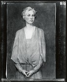 view Portrait of Woman [painting] / (photographed by Peter A. Juley & Son) digital asset number 1