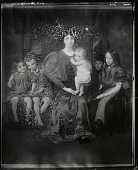 view The Family Group [painting] / (photographed by Peter A. Juley & Son) digital asset number 1