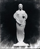 view Model for a Standing Female Figure [sculpture] / (photographed by Peter A. Juley & Son) digital asset number 1