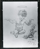 view Study with Infant Christ and St. John [art work] / (photographed by Peter A. Juley & Son) digital asset number 1