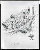 view Friends [drawing] / (photographed by Peter A. Juley & Son) digital asset number 1