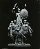 view Soldier's and Sailor's Monument (model) [sculpture] / (photographed by Peter A. Juley & Son) digital asset number 1