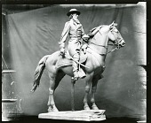 view Major General David McMurtrie Gregg (model) [sculpture] / (photographed by Peter A. Juley & Son) digital asset number 1