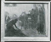 view Study for the Raising of Lazarus [painting] / (photographed by Peter A. Juley & Son) digital asset number 1